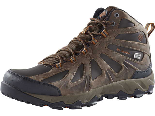Columbia Peakfreak XRCSN II Mid Outdry Shoes Men cordovan / bright copper